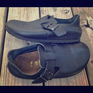 Birkenstock clogs closes Back Size 38 Black